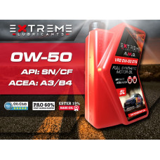 Моторное масло EXTREME A.M.G. VR2 0W50 GTS (1 л)