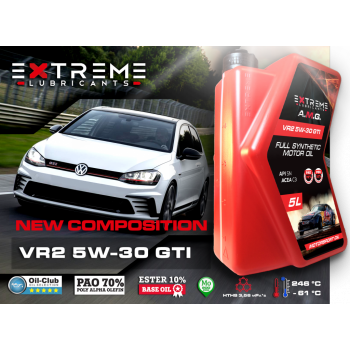 Моторное масло EXTREME A.M.G. VR2 5W30 GTI (1 л)