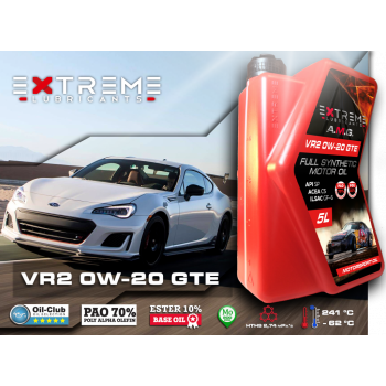 Моторное масло EXTREME A.M.G. VR2 0W20 GTE (1 л)